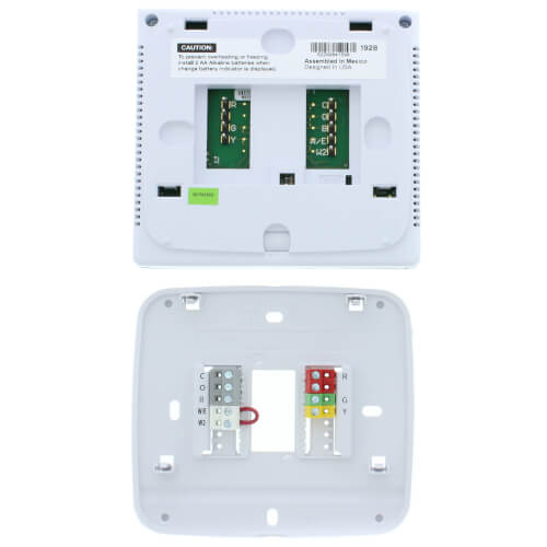 t721 digital non-programmable, multi-stage thermostat w/ heat pump (2h