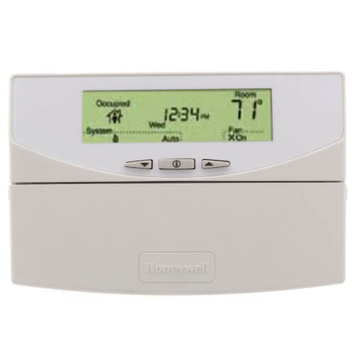 Communicating Programmable Commercial Thermostat with 3 Heat/3 Cool stages Product Image
