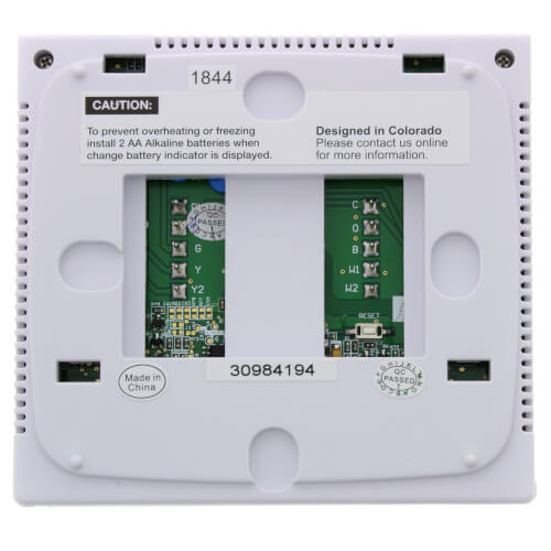 PRO1 IAQ T755 3 Hot//2 Cold 7 Day Thermostat with 4-Sq-Inch Screen