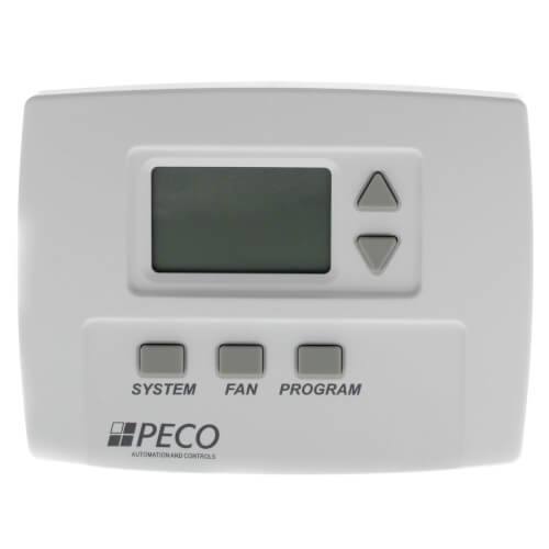 7-Day Programmable, 1 Heat/1 Cool, 3 Speed Fan Thermostat