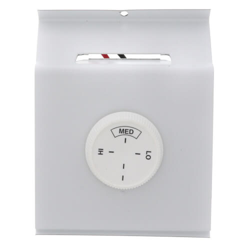 Single Pole Thermostat for QMark 2500 Baseboard Heater (Northern White) Product Image