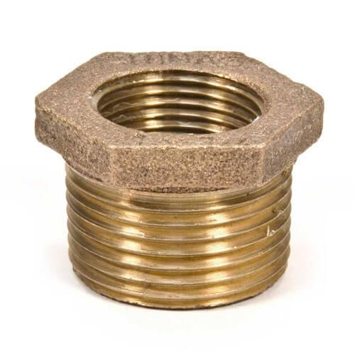 Lead Free 1-1//4 x 3//4 MIP x FIP Brass Bushing