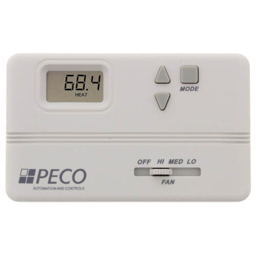 Proportional Auto-Heat-Cool-Off Thermostat w/ 3-Wire or On/Off Valves Product Image
