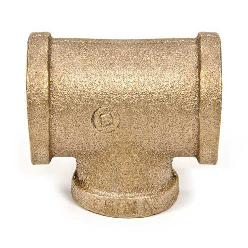 """3/4"""" x 3/4"""" x 1/2"""" FIP Brass Tee (Lead Free) Product Image"""