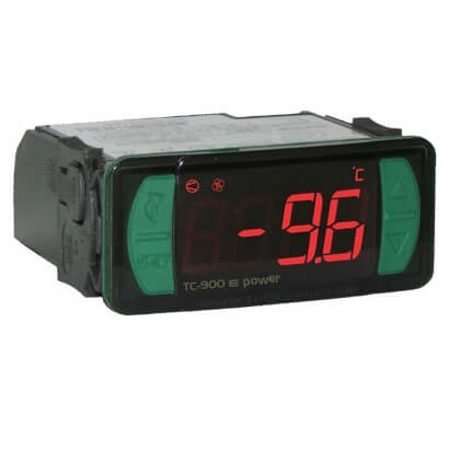 Digital Controller for Refrigeration and Defrost, 3 Relay Outputs, 2 Temperature Sensors Product Image