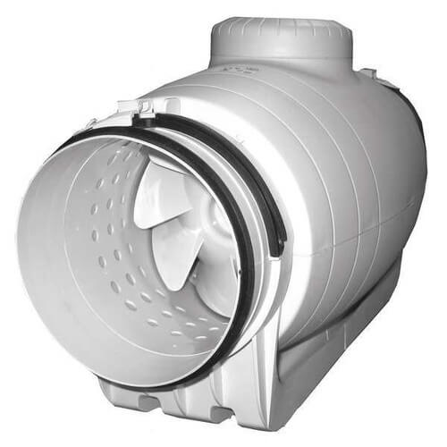 """TD-SILENT 6"""" Mixed Flow Duct Fan (120V, 2700 RPM, 65W) Product Image"""