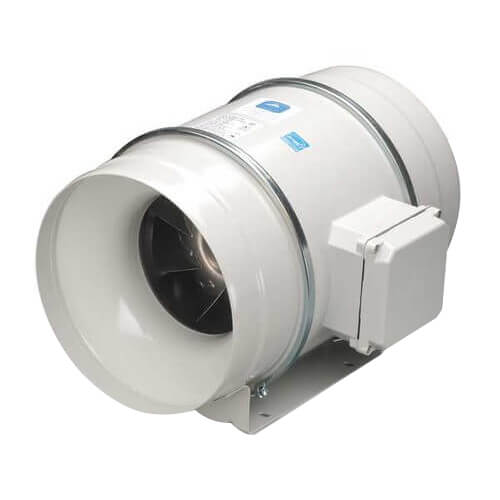 """TD-MIXVENT 12.4"""" Mixed Flow Duct Fan (115V, 2000/2500 RPM, 208/335W) Product Image"""