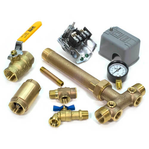"1"" MPT Union Brass Tank Tee Package (Lead Free) Product Image"