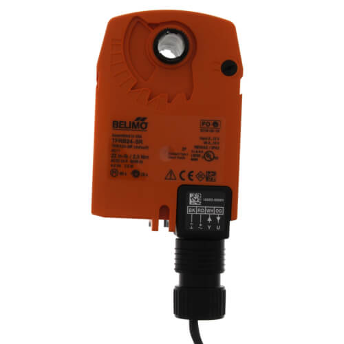 """Details about  /Belimo TFRB24-SR Actuator  1//2/""""   CV=0.8   Ships on the Same Day of the Purchase"""