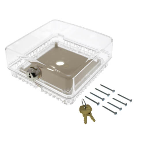 Small Universal Thermostat Guard - Clear Cover (T87) Product Image
