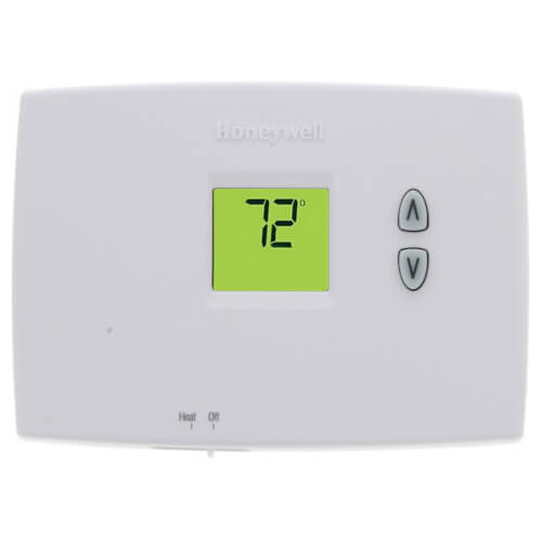 PRO 1000 Non-Programmable, Heat Only, Horizontal Thermostat Product Image
