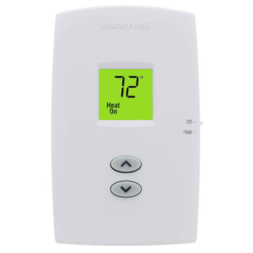 PRO 1000 Non-Programmable, Heat Only, Vertical Thermostat Product Image