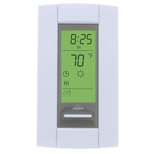 7-Day Programmable Low Voltage Electric Heating Thermostat Product Image