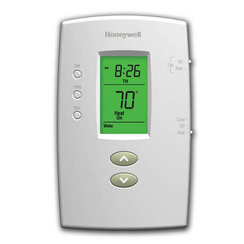 Th2110d1009 honeywell th2110d1009 basic pro programmable 1h1c basic pro programmable 1h1c vertical thermostat product image cheapraybanclubmaster Choice Image