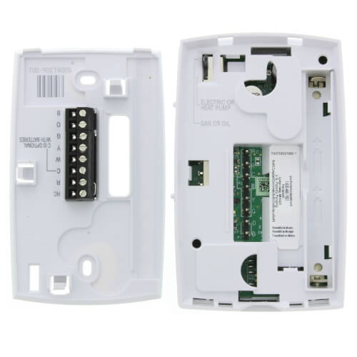 PRO 2000 Programmable, 1H/1C, Vertical Thermostat Product Image