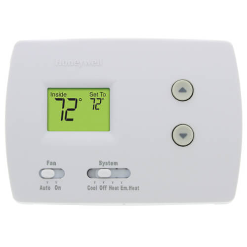 Pro Non-Programmable, 2H/1C, Standard Display Thermostat on