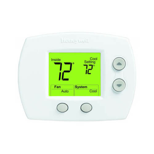 FocusPro Non-Programmable, 1H/1C, Large Display Thermostat Product Image