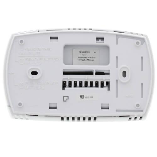 Honeywell Thermostat Th5220 Wiring Diagram