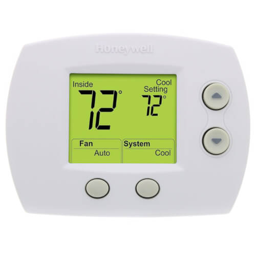 Non-Programmable Communicating Digital Thermostat (Premier White) Product Image