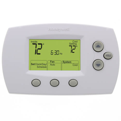 Th6110d1005 Honeywell Th6110d1005 Focuspro Programmable 1h 1c Standard Display Thermostat