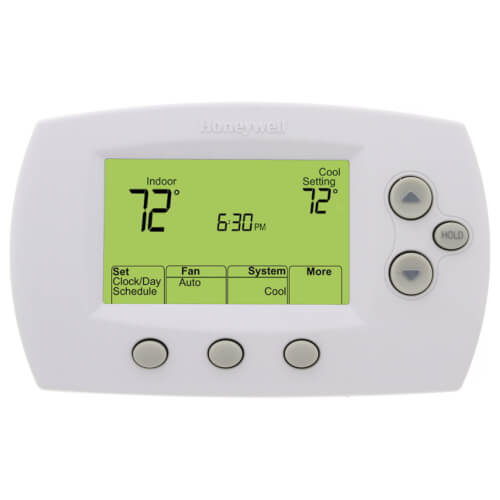 FocusPro Programmable, 1H/1C, Large Display Thermostat Product Image