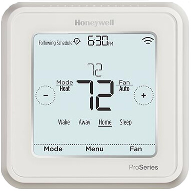 T6 Pro Smart Wi-Fi Programmable Thermostat, 2H/2C Product Image