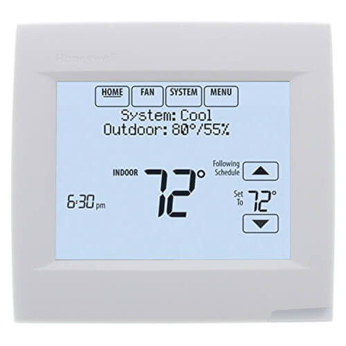 VisionPRO 8000 with RedLINK technology, Programmable, 1H/1C, Touchscreen Thermostat Product Image