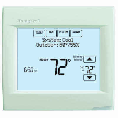 th8110r1008 honeywell th8110r1008 visionpro 8000 with redlink rh supplyhouse com honeywell thermostat visionpro 8000 user manual Honeywell 8000 Thermostat Manual PDF