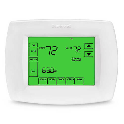 VisionPro Programmable, 1H/1C, Touchscreen Thermostat Product Image