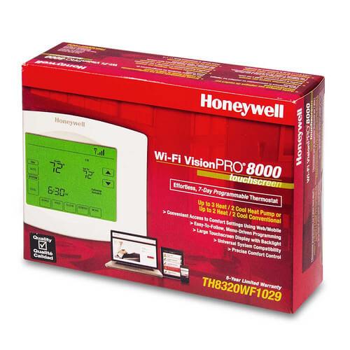 th8320wf1029 honeywell th8320wf1029 wi fi visionpro thermostat Electric Motor Wiring Diagram