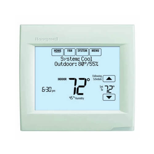 th8321wf1001 honeywell th8321wf1001 wi fi visionpro 8000wi fi visionpro 8000 programmable, 3h 2c, touchscreen thermostat product image