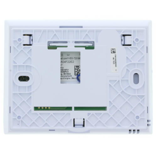 Wi-Fi 9000 7-Day Programmable 3H/2C Color Touchscreen Thermostat