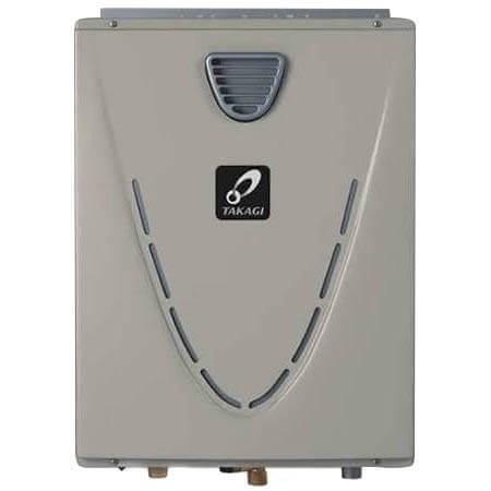 199,000 BTU Ultra Low-NOx Natural Gas Outdoor Condensing Tankless Water Heater (10 GPM) Product Image