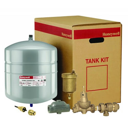 "TK300 Boiler Trim Kit w/ Check & Backflow Valves, 1"" Air Purger, & 4.4 Gal. Expansion Tank Product Image"