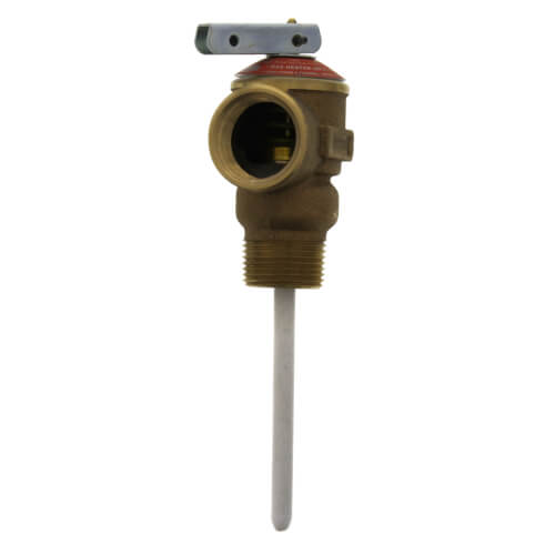 "T&P Relief Valve, MNPT x FNPT, 4"" Probe, Set at 75 Product Image"