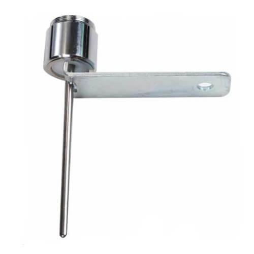 "Commercial Pro Water Saver Faucet w/ Stainless Steel Rod (2.25""), Armored Housing, and Theft-Proof Lock Product Image"
