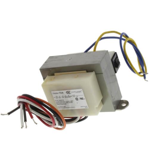 120V/208V/240V/480V (Primary) 24V (Secondary), 75VA Transformer, Foot Mount Product Image