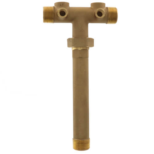 """1"""" X 10"""" Center to End Union Brass Tank Tee (Lead Free) Product Image"""