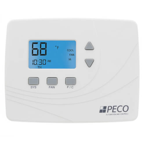 Non-Programmable 2H/2C, Wireless Thermostat, 24V Product Image