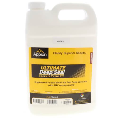 Ultimate Deep Seal Vacuum Pump Oil - 1 Gal. Product Image