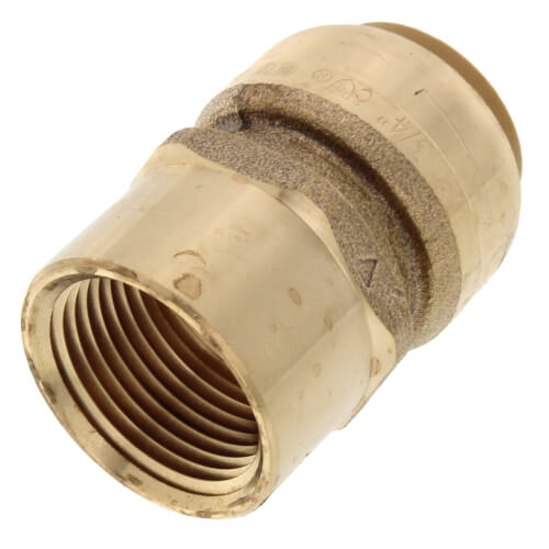 "3/4"" Sharkbite x Female Adapter (Lead Free) Product Image"
