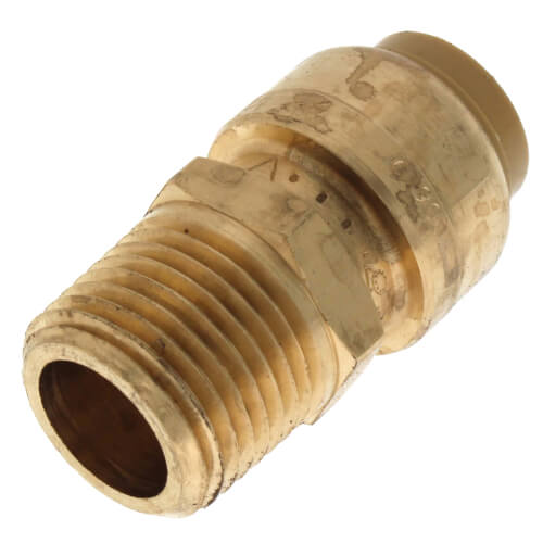 "1/2"" x 1/2"" Sharkbite Pipe to Male Pipe Thread Connector (Lead Free) Product Image"