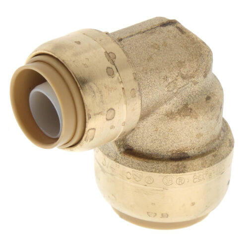 """3/4"""" x 1/2"""" Sharkbite Reducing 90° Elbow (Lead Free) Product Image"""