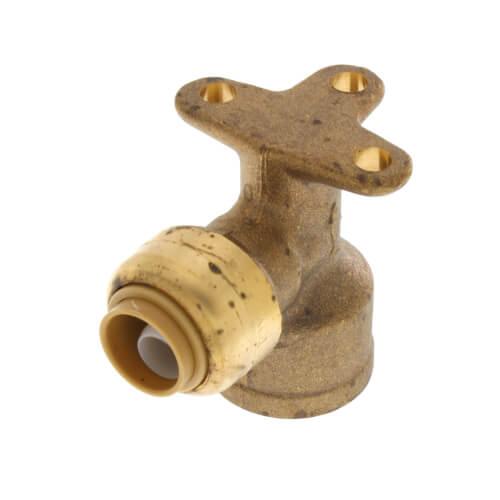 "3/8"" SharkBite x 1/2"" FNPT Drop Ear Reducing Elbow (Lead Free) Product Image"