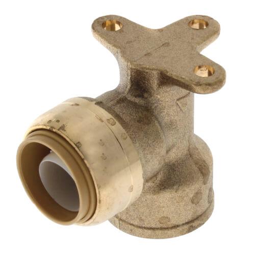 "3/4"" x 3/4"" Drop Ear SharkBite x FNPT Elbow (Lead Free) Product Image"
