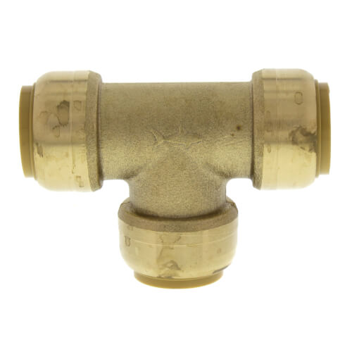 """25 Push-Fit 3//4/"""" Sharkbite Style Push to Connect Lead-Free Brass Tees"""