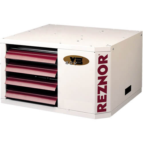 UDAS-75 Direct Vented Separated Combustion Gas Fired Unit Heater w/ Vertical Roof Vent Kit - 75,000 BTU Product Image