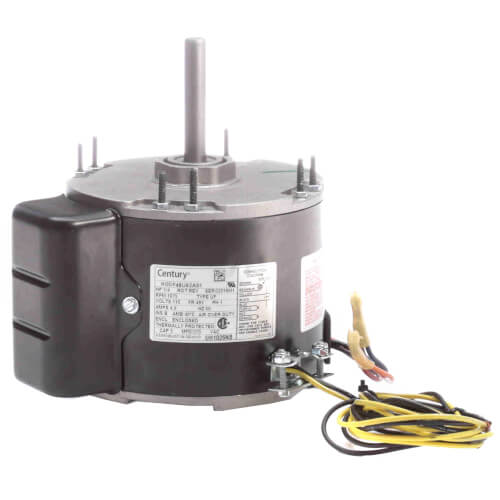 """5-5/8"""" Totally Enclosed Fan/Blower Motor, No Base (4.9A, 115V, 1075 RPM, 1/4 HP) Product Image"""