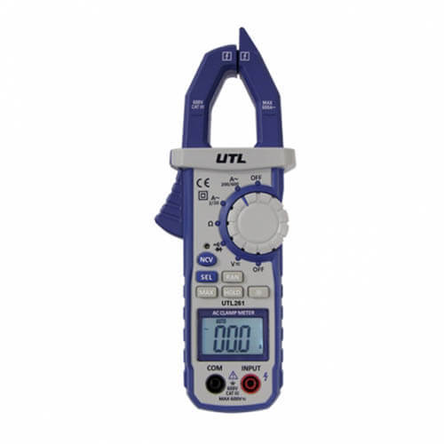 UTL261, UTL Brand Digital Clamp Multimeter Product Image