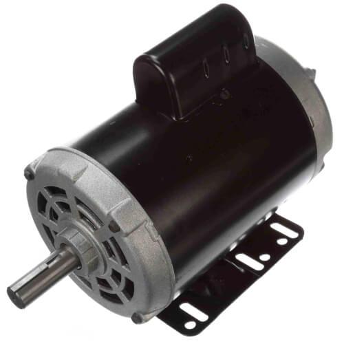 143T Frame Capacitor Start ODP Rigid Base Motor, 1 HP, 1725 RPM (208-230/115V) Product Image